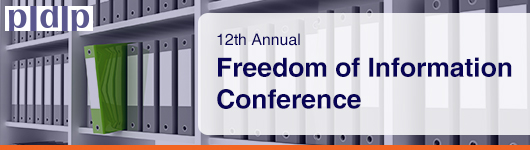 12th Annual Freedom of Information Conference, May 2016